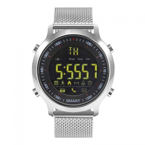 Bluetooth Smartwatch EX18 Silber